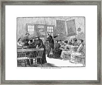 Salvation Army, 1880s Framed Print by Granger