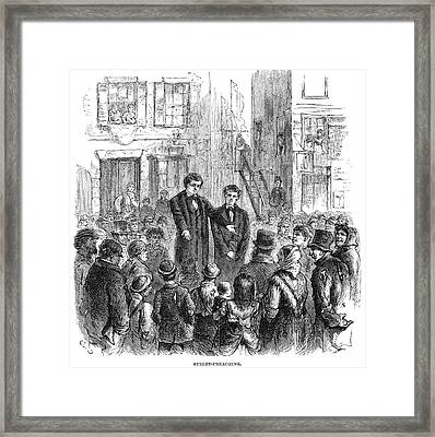 Salvation Army Framed Print by Granger