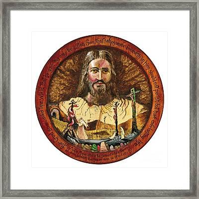 Salvation Framed Print by Peter Olsen