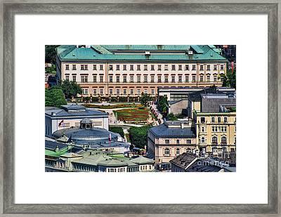 Salzburg II Austria Europe Framed Print by Sabine Jacobs