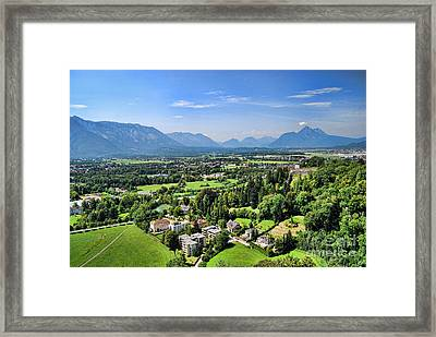 Salzburg IIi Austria Europe Framed Print by Sabine Jacobs