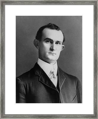 Sam Ealy Johnson 1877-1937, Father Framed Print by Everett