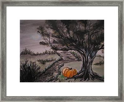 Samhain Framed Print