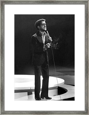 Sammy Davis, Jr., Late 60s Framed Print by Everett