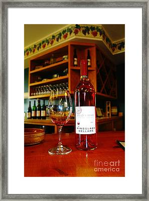 Sampling  Framed Print by Jeff Swan