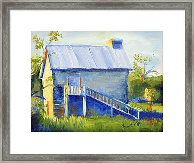 Samson House Framed Print by Janet Oh