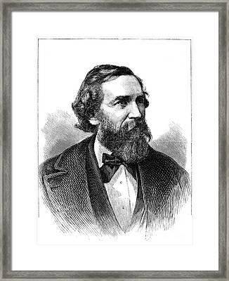 Samuel Bowles (1826-1878) Framed Print by Granger