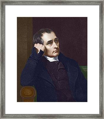 Samuel Crompton, British Inventor Framed Print by Sheila Terry