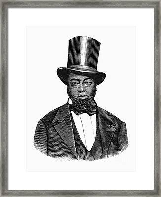 Samuel D. Burris Framed Print