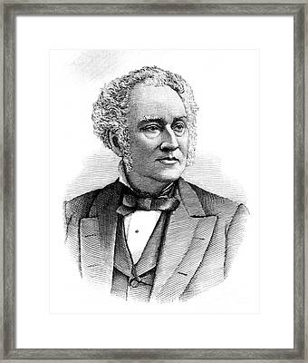 Samuel David Gross, American Surgeon Framed Print
