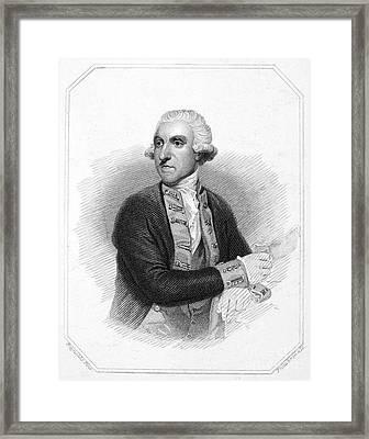 Samuel Hood (1724-1816) Framed Print by Granger