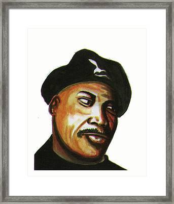 Samuel L Jackson Framed Print by Emmanuel Baliyanga