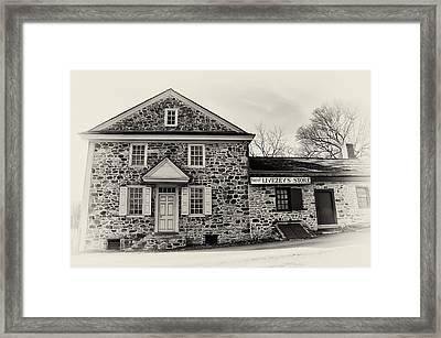 Samuel Livezey's Store Framed Print by Bill Cannon