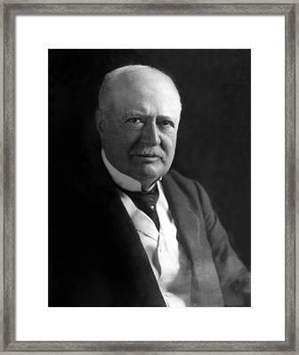 Samuel P. Colt, Chairman Of The Board Framed Print by Everett