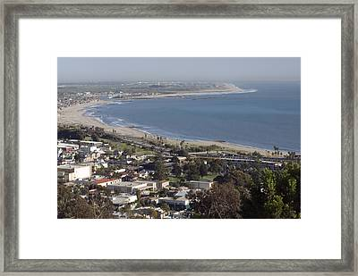 San Buenaventura State Beach Framed Print by Rich Reid