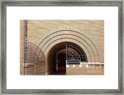 San Francisco - Maiden Lane - Xanadu Gallery - Frank Lloyd Architecture - 5d17794 Framed Print by Wingsdomain Art and Photography