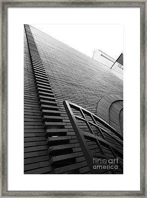 San Francisco - Maiden Lane - Xanadu Gallery - Frank Lloyd Architecture - 5d17795 - Black And White Framed Print