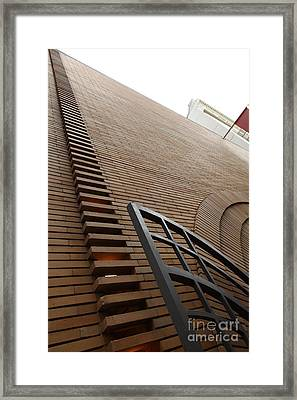 San Francisco - Maiden Lane - Xanadu Gallery - Frank Lloyd Architecture - 5d17795 Framed Print by Wingsdomain Art and Photography