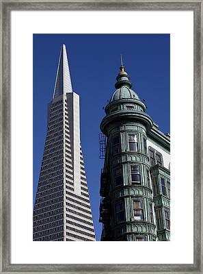 San Francisco Buildings Framed Print by Garry Gay