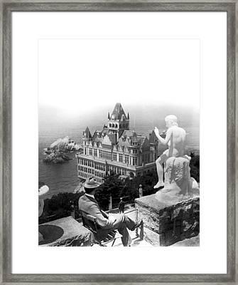 San Francisco Cliff House Framed Print