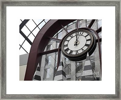 San Francisco Crocker Galleria - 5d17907 Framed Print