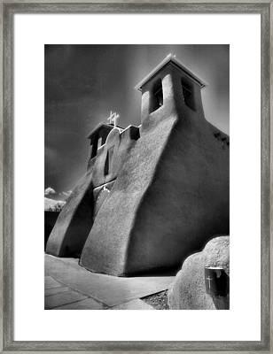 San Francisco De Asis Church II Framed Print by Steven Ainsworth