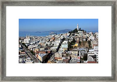 San Francisco Framed Print by Luiz Felipe Castro