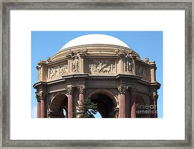 San Francisco Palace Of Fine Arts - 5d18059 Framed Print by Wingsdomain Art and Photography