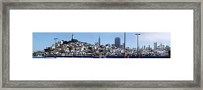 San Francisco Panorama Framed Print