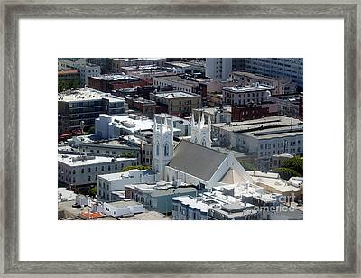 San Francisco St Francis Of Assisi Church Framed Print