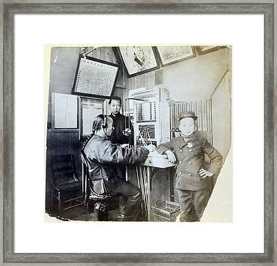 San Francisco, The First Chinese Framed Print by Everett
