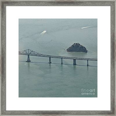 San Franciscos Richmond-san Rafael Bridge Framed Print