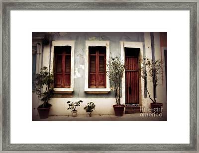 San Juan Living Framed Print by Perry Webster