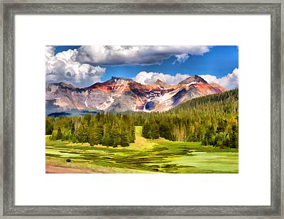 San Juan Majesty Framed Print