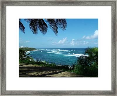 San Juan Puerto Rico Framed Print by Steve Monell