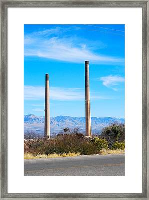 San Manuel 1 Framed Print by T C Brown