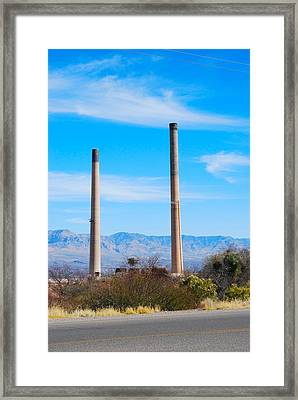 San Manuel 2 Framed Print by T C Brown