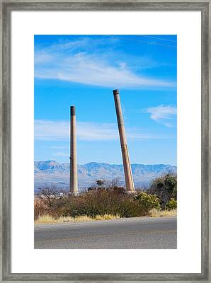 San Manuel 5 Framed Print by T C Brown