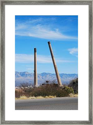 San Manuel 9 Framed Print by T C Brown