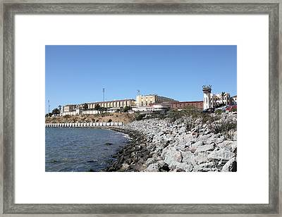 San Quentin State Prison In California - 5d18454 Framed Print