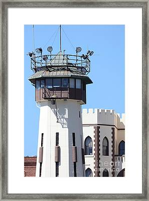 San Quentin State Prison In California - 5d18466 Framed Print
