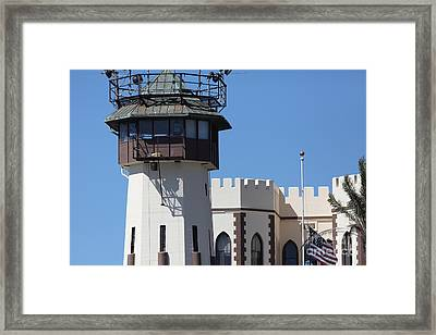 San Quentin State Prison In California - 5d18467 Framed Print