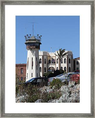San Quentin State Prison In California - 7d18543 Framed Print