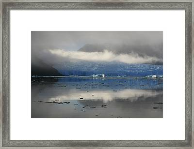 Framed Print featuring the photograph San Rafael Glacier by Laurel Talabere