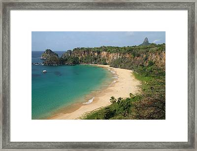 Sancho Beach Framed Print