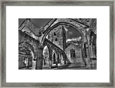 Sanctuarium Contritum Tres Framed Print by John Ellison