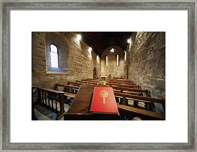 Sanctuary Northumberland, England Framed Print by John Short