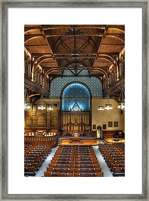 Sanctuary Roof Framed Print