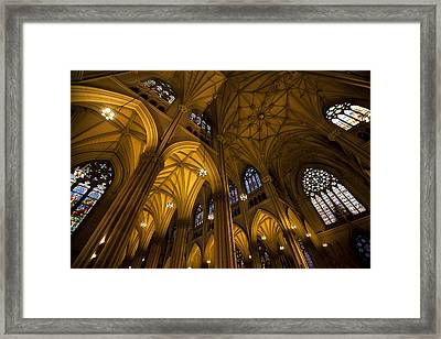 Sanctuary Framed Print by Sara Hudock