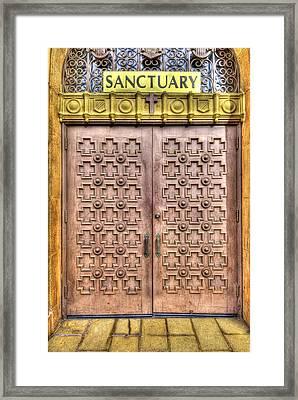 Sanctuary Framed Print by Tony Marinella